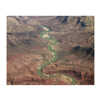 Comanche Point, Grand Canyon Wood Wall Art