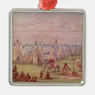 Comanchee Village Christmas Ornament