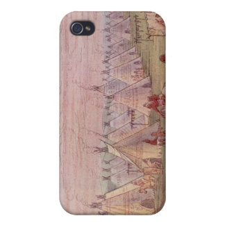 Comanchee Village iPhone 4 Cover