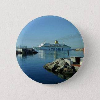 Comarit Ferry Almeria 6 Cm Round Badge