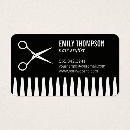 Comb | Hair Stylist Business Card