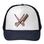Comb & Scissors - Hairdresser Mesh Hats