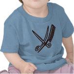 Comb & Scissors - Hairdresser T Shirts