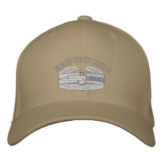 Combat Action Badge Iraq Afghanistan Ribbon Hat Embroidered Hat