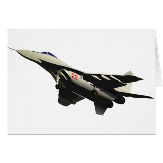 Combat Aircraft Note Cards