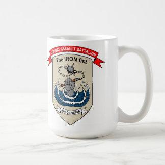 "Combat Assault Battalion ""The Iron Fist"" Basic White Mug"