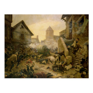 Combat at Cholet or The Suicide of General Postcard