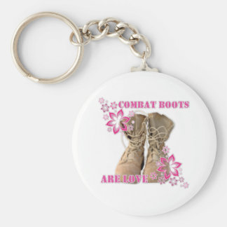 combat boots are love key ring