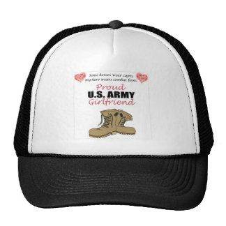 Combat Boots Mesh Hat