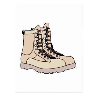 Combat Boots Postcard