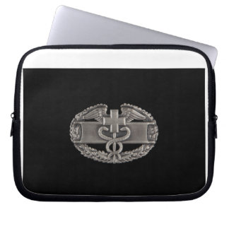 Combat Field Medical Badge (CFMB) Laptop Sleeve