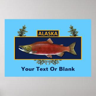 Combat Fisherman Badge Print