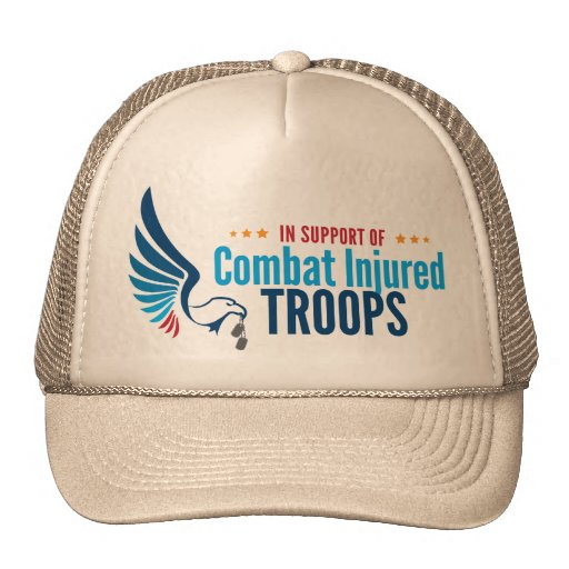 Combat for Injured Troops Hat
