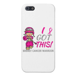 Combat Girl 2 Breast Cancer Hot Pink Case For iPhone 5