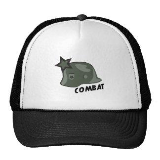 Combat Helmet Trucker Hat