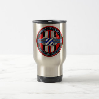 Combat Infantry OEF 3rd ID Stainless Steel Travel Mug