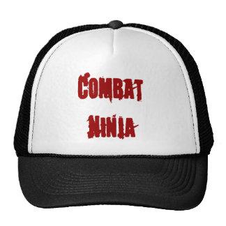 combat ninja trucker hat