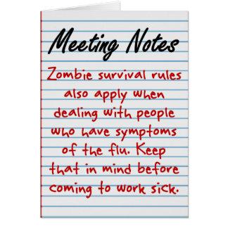 Combat Presenteeism Note Card