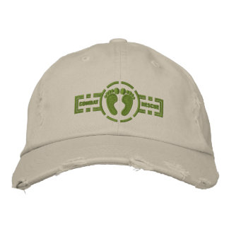 Combat Rescue Roundel Hat | Green Feet Embroidered Hats