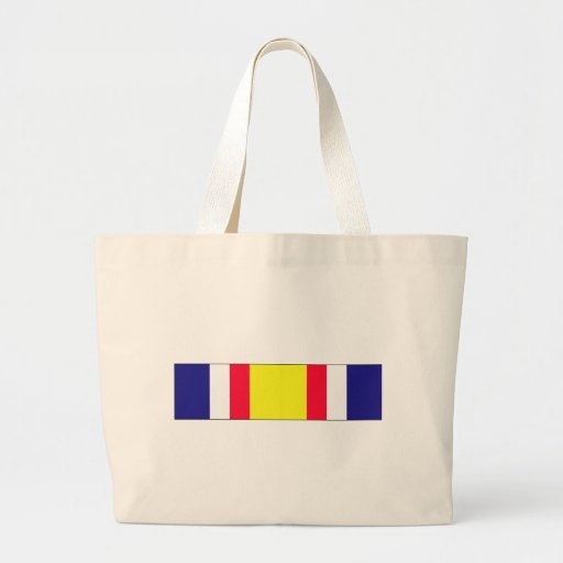 Combat Service Commemorative Ribbon Canvas Bags