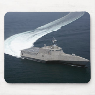Combat ship Independence in the Gulf of Mexico Mouse Mat