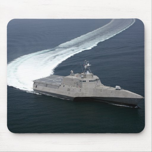 Combat ship Independence in the Gulf of Mexico Mouse Pads