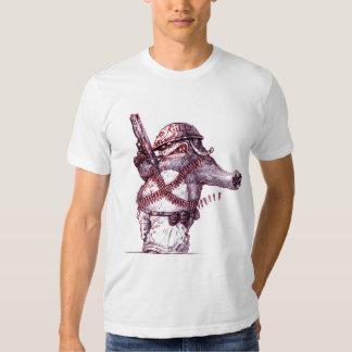 Combat Wombat T Shirts