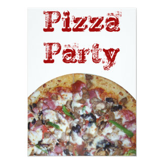 Combination Pizza Card