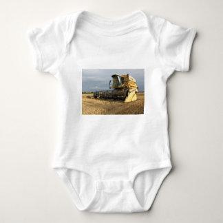 Combine Harvester Baby Bodysuit