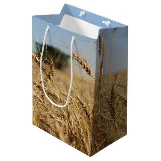 Combine in Wheat Field Medium Gift Bag