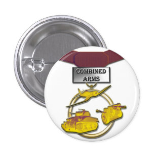 Combined Arms medal button