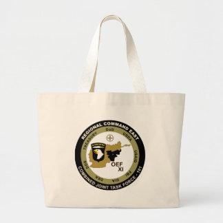 Combined Joint Task Force - Regional Command East Canvas Bags