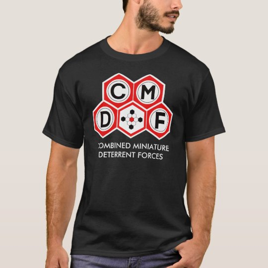 Combined Miniature Deterrent Forces Crew T-Shirt