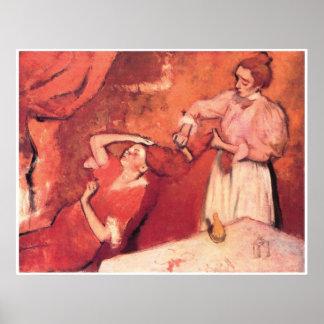 Combing the Hair, c. 1892-95, Edgar Degas Poster