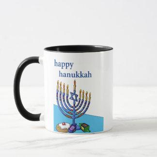 Combo Mug, Happy Hanukkah. Mug