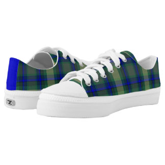 Combo Plaid low-tops