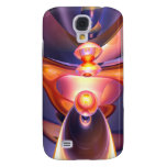 Combustion Abstract 3G Samsung Galaxy S4 Cases