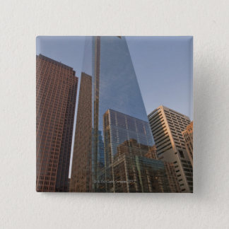 Comcast Center and Bell Atlantic Tower 15 Cm Square Badge