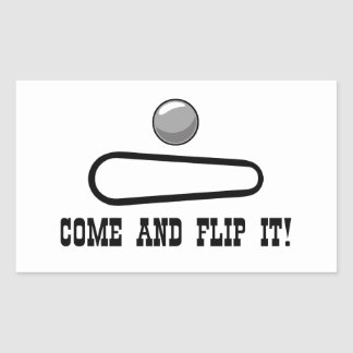 COME AND FLIP IT! Sticker