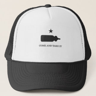 Come and Take It Bottle Black Trucker Hat