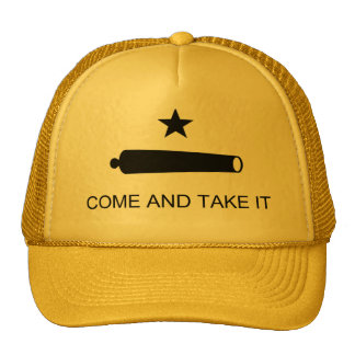 Come and Take it Motto Hat