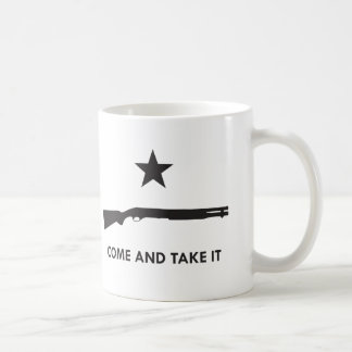 Come and take it! (Shotgun) Basic White Mug