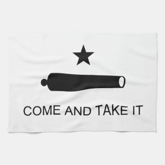 Come And Take It Texas Flag Battle of Gonzales Tea Towel
