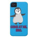 Come at Me, Bro Penguin iPhone 4 Case