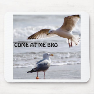 Come at me bro! Seagull Version Mouse Pad