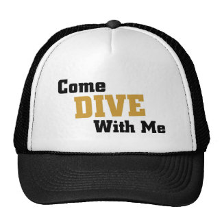Come dive with me cap