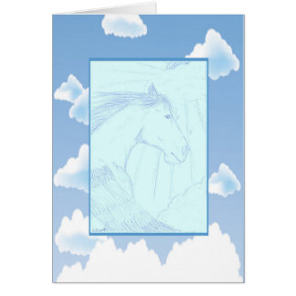 Come Fly With Me Pegasus Greeting Card