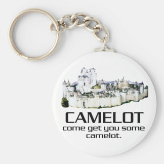 Come Get You Some Camelot. Basic Round Button Key Ring