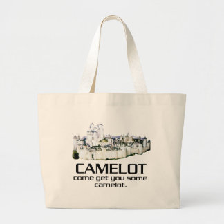 Come Get You Some Camelot. Jumbo Tote Bag