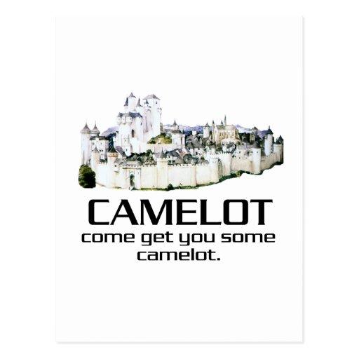 Come Get You Some Camelot. Postcards